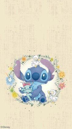 รวมวอลเปเปอร์หน้าจอมือถือลาย Stitch รูปที่ 20