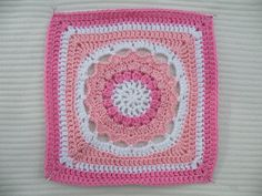 """Ravelry: Project Gallery for Starfire - 12"""" square pattern by Melinda Miller"""