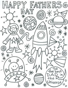 Cute Father's Day Coloring Page! / in His Grace: Summer Series 2013 (Week Two)