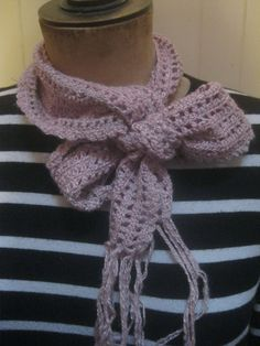 Delicate handspun silk and alpaca scarf by KnitwitDesignsUK, £22.00