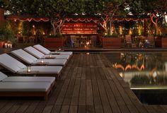 Twilight at the Modern Honolulu hotel