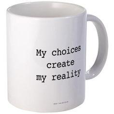 Warrior: Choices Create Realities Mugs