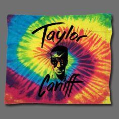 Taylor Face Tie-Dye Bandana : TCNF : Taylor Caniff