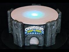 Skylanders cake that lights up