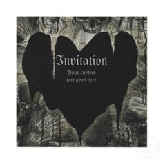 Gothic Wedding invitationGothic Wedding Ideas and Inspirations for a Gothic themed Wedding