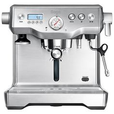 Buy Sage by Heston Blumenthal the Dual Boiler™ Espresso Coffee Machine Online at johnlewis.com
