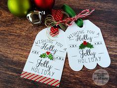 Tags by Jen del Muro. Reverse Confetti stamp set: North Pole Wishes. Confetti Cuts: Tag Me, Too, Tagged Tote, and North Pole Wishes. Christmas Tags.