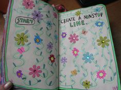 wreck this journal create a non stop line