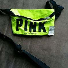 Pink fanny pack Super cute and convenient Victoria's Secret Accessories