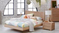 Latitude Queen Bed - Beds & Suites - Bedroom - Beds & Manchester | Harvey Norman Australia