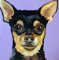 chihuahua painting - Google Search