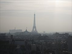 VIEW OF THE GRAND PALAIS, PETIT PALAIS AND EIFFEL TOWER FROM PRINTEMPS