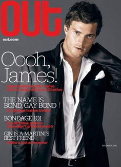 Fifty Shades Jamie Dornan Covered Out Magazine in 2006—See His ...