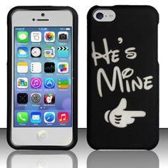 363d14403c6 INSTEN Couple Valentine Disneyland Rubberized Phone Case Cover for Apple  iPhone 5C