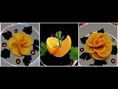 How to make Lemon Twist for Food Plating. Food Decoration. Plating Garnishes. Food Presentation - YouTube