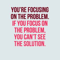 Note to Self: We get more of what we focus on, especially when we attach emotion to it. Focus on what you desire!