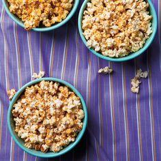 Popcorn sucré   Ricardo Ketchup, Gluten Free Popcorn, Appetizer Recipes, Appetizers, Sweet Popcorn, Ricardo Recipe, Cooking With Kids, Low Calorie Recipes, Vegetarian