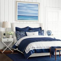 Horizon at Sea #williamssonoma I want an actual painting from a local artist for this one...
