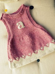 Baby Knits - Dresses on Pinterest Dungarees, Ravelry and ...