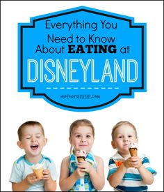 All the resources you need for eating at Disneyland: Disney Food Favorites, How to eat cheaply, Menus and pricing, as well as where to eat Gluten-free