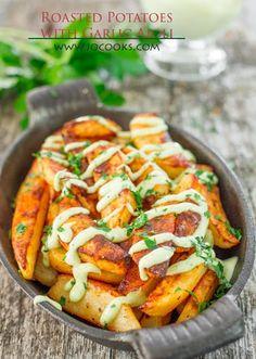 Roasted Potatoes with Garlic Aioli Recipe on Yummly