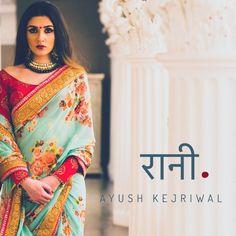 Ayush Kejriwal ( Clothing ) — Saree by Ayush Kejriwal  For purchases email me at...