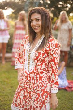 Nina of The HSS Feed Blog wearing Sheridan French 2013 Gabby Dress