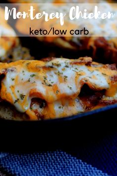 "TweetEmail TweetEmail Share the post ""Monterey Chicken {Keto / Low Carb}"" FacebookPinterestTwitterEmail I remember years ago loving the Monterey Chicken at Chili's Restaurant Grill & Bar. Then, they took it off the menu, and it has been just a distant memory ever since. Since starting Keto earlier this year, I have thought about making acontinue reading..."