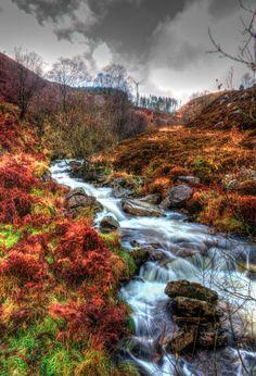 Upper Rhondda. The very upper reaches of the Rhondda Fawr. Photo by Piers Hallihan. Source Flickr.com