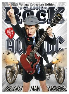 The New Issue of Classic Rock is On Sale Now, and it's in Spectacular It's the Last Man Standing, as AC/DC's Angus Young appears on the glorious, lenticular cover of Classic Rock issue 223 Rock And Roll Bands, Rock N Roll Music, Rock Bands, Death Metal, Rock And Roll History, Ac Dc Rock, Angus Young, Heavy Rock, Pop Rock