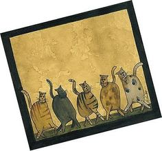 """Dancing Cats"" Notepad"