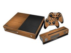 Eddie Internatioanl (Tm) Xbox One Kinect Console Designer Skin For Xbox One Console System Plus Two (2) Decals For: Xbox One Controller - Wood, 2015 Amazon Top Rated Faceplates, Protectors & Skins #VideoGames
