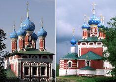 © Konstantin Mikhailov/Newscom/ZUMA Press; REX/Russian Look / UIG Iglesia de Dmitry en Uglich, Rusia Se encuentra Yaroslavl Oblast y se construyó en 1692.