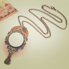 "🌟midnight sale🌟tonight only🌟Mirror necklace Antique inspired beautiful magic mirror necklace. Actual mirror on pendant. Chain measures approx. 14"" in length. More than one available.    Items with ""last call"" in title are all $3.00 The catch is that you must bundle the items with the bundle equaling at least $9.00. More than 3 items? I'll give you a better deal.   Here's how it works:  Add items to the bundle when you're all done tag me in a comment and I will make a post including your…"