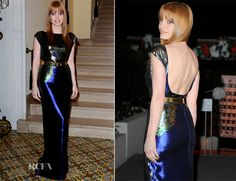 Jessica Chastain In Mary Katrantzou – 'The Disappearance of Eleanor Rigby' Ischia Global Film + Music Festival Premiere