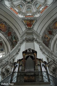 Barok Architecture- Dome- Salzberg- Austria
