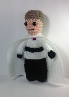 NEW Director Krennic star Wars inspired crochet by pamcrafteduk