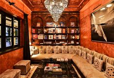 Traditional Moroccan living room - ideal to take a tea in the afternoon - Marrakech Luxury Villa