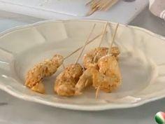 Spiedini di pollo marinati piccanti