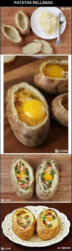 i think i just found the best thing ever....Papas rellenas