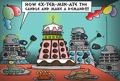 Dalek Birthday!