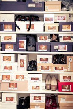 schachteln verwenden, um schuhe leicht aufzubewahren - Selbermachen – 35 coole Schuhaufbewahrung Ideen