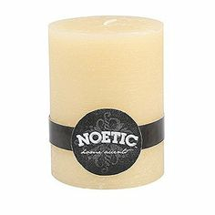 Sandstone Noetic Pillar - 3x4in  Price : $11.95 http://harmonyhomeshop.hostedbywebstore.com/Virginia-Candle-Company-72138-Sandstone/dp/B00IVP9W2I