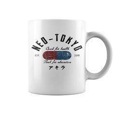 Neo - Tokyo Top Mug : coffee mug, papa mug, cool mugs, funny coffee mugs, coffee mug funny, mug gift, #mugs #ideas #gift #mugcoffee #coolmug