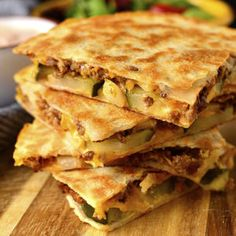 Cheeseburger Quesadillas with Special Sauce - Iowa Girl Eats Gluten Free Recipes For Dinner, Gluten Free Desserts, Dinner Recipes, Dessert Recipes, Restaurant Recipes, Dinner Ideas, Quesadillas, Food Print, A Food