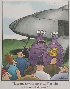 "Image result for ""The Far Side"" by Gary Larson."