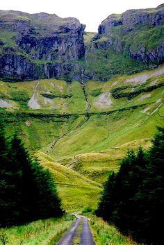 Gleniff Horseshoe Valley, Co. Sligo, Ireland.