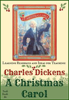 Charles Dickens A Christmas Carol ~ Lesson Ideas from Teach Beside Me