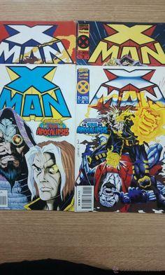 X-MAN VOL 1 (ERA DE APOCALIPSIS) COLECCION COMPLETA (4 NUMEROS) $6