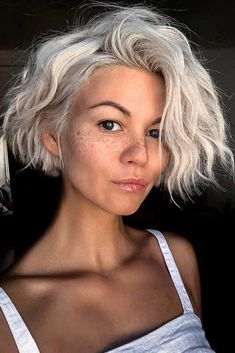 12 Best Short Haircuts For 2020 No matter your hair type, a stylish short hair cut will always ensure you a chic and dynamic look. hair styles 12 Best Short Haircuts For 2020 - The UnderCut Popular Short Haircuts, Cute Hairstyles For Short Hair, Short Hair Cuts For Women, Hairstyles Haircuts, Curly Hair Styles, Short Blonde Haircuts, Shortish Hairstyles, Short Haircut Thick Hair, Short Haircuts Women